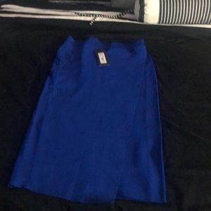 Gabrielle Union for NY & Company blue skirt